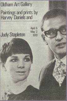 harvey daniels judy stapleton oldham exhibition 1970