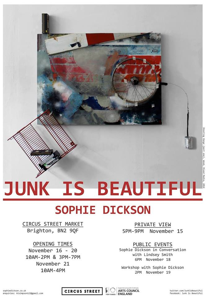 Sophie Dickson - Junk is Beautiful
